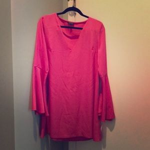 Top shop pink dress size US 8